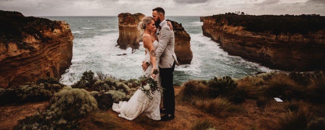 Kangaroobie Weddings - Loch Ard Gorge